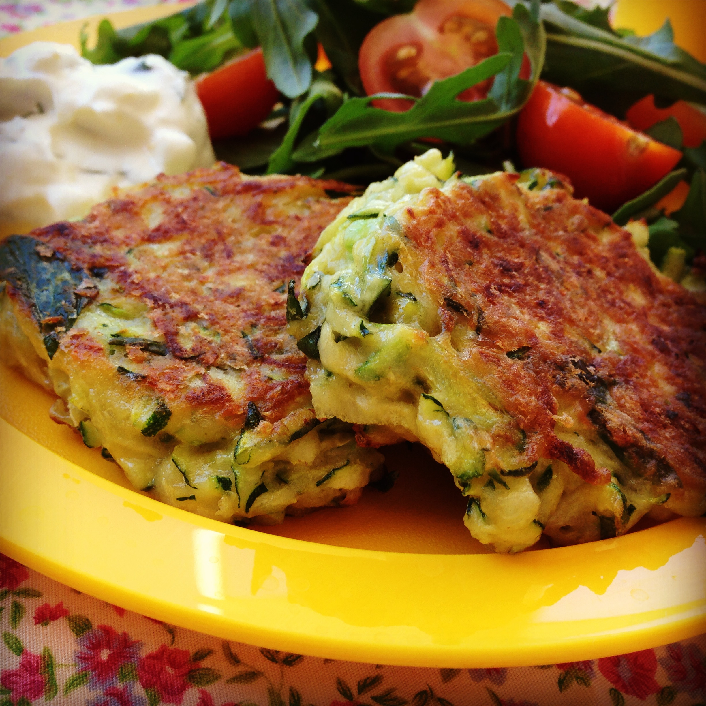 Zucchini Fritters My Lovely Little Lunch Box